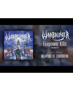 WARBRINGER - Weapons Of Tomorrow / Gatefold BLACK LP