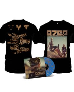 OTEP-Generation Doom/Limited Edition BLUE GOLD Splattered Gatefold Vinyl LP + T-Shirt Bundle