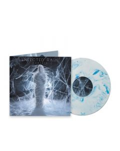 INFECTED RAIN - Ecdysis / LIMITED EDITION BLUE WHITE MARBLE LP ESTIMATED RELEASE DATE 1/7/22