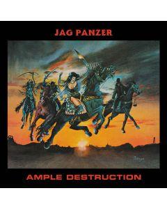 JAG PANZER - Ample Destruction / IMPORT Clear LP