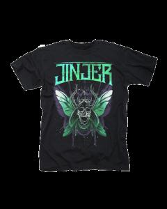 JINJER-Butterfly Skull/T-Shirt