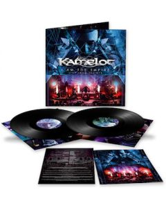 KAMELOT - I Am The Empire - Live From The 013 / BLACK 2LP + DVD