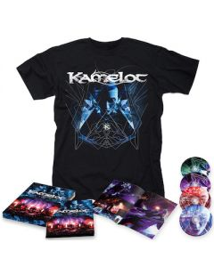 KAMELOT - I Am The Empire - Live From The 013 / BLU-RAY + DVD + 2CD Digipak + T-Shirt Bundle