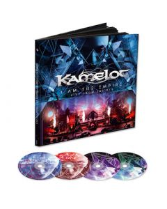 KAMELOT - I Am The Empire - Live From The 013 / LIMTED EDITION EARBOOK
