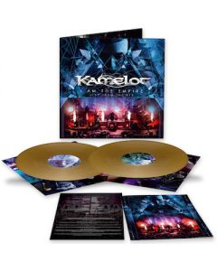 KAMELOT - I Am The Empire - Live From The 013 / LIMITED EDITION GOLD 2LP + DVD