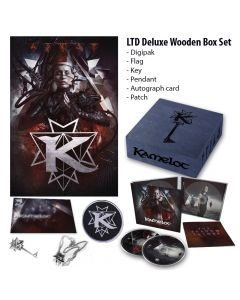 KAMELOT-The Shadow Theory/Limited Edition Deluxe Wooden Boxset