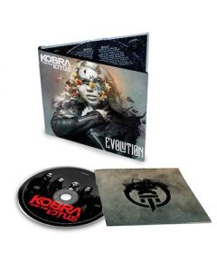 KOBRA AND THE LOTUS - Evolution / Digipak CD