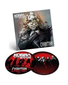 KOBRA AND THE LOTUS - Evolution / PICTURE LP Gatefold
