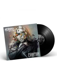KOBRA AND THE LOTUS - Evolution / Black LP Gatefold