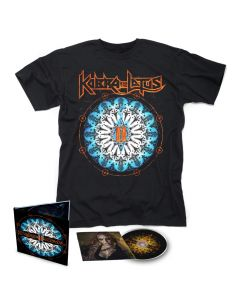 KOBRA AND THE LOTUS-Prevail II/Limited Edition Digipack CD + T-Shirt  BUNDLE
