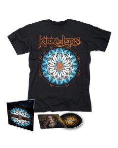 KOBRA AND THE LOTUS-Prevail II/Limited Edition Digipack CD + T-Shirt  BUNDLE