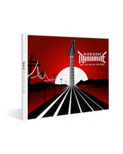 KISSIN' DYNAMITE - Not The End Of The Road / Digipak CD + T-Shirt Bundle PRE-ORDER RELEASE DATE 1/21/22