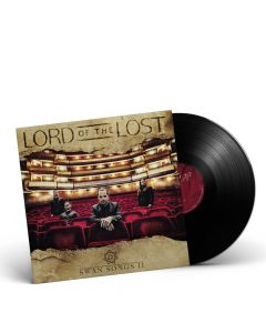LORD OF THE LOST-Swan Song II/Limited Edition BLACK Gatefold LP