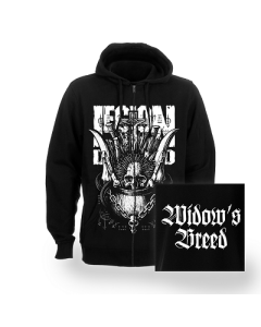 LEGION OF THE DAMNED-Widows Breed/Zip Hoodie