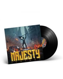 MAJESTY-Legends/Limited Edition BLACK Vinyl Gatefold LP