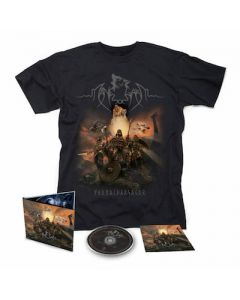 MANEGARM – Fornaldarsagor / Digipak CD + T- Shirt Bundle