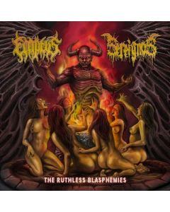 SEREIGNOS / EMPTYS - The Ruthless Blasphemies / CD