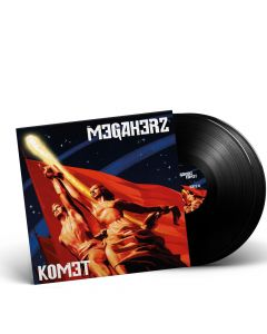 MEGAHERZ-Komet/Limited Edition BLACK Vinyl Gatefold 2LP