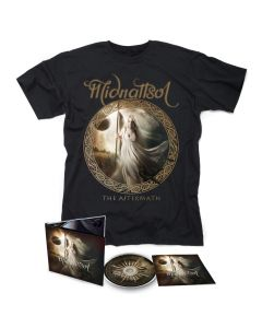 MIDNATTSOL- The Aftermath/Limited Edition Digipack CD + T-Shirt  BUNDLE