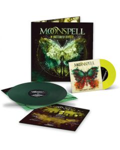 MOONSPELL - The Butterfly Effect / GREEN LP + YELLOW 7 INCH