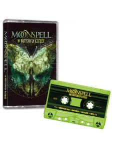 MOONSPELL - The Butterfly Effect / Limited Edition CLEAR YELLOW Cassette