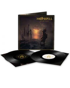 MOONSPELL - Hermitage / BLACK 2LP