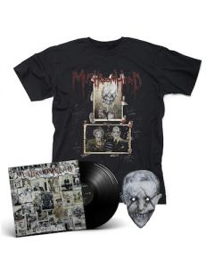 MUSHROOMHEAD - A Wonderful Life / BLACK 2LP + T-Shirt Bundle