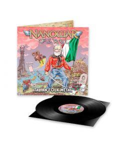 NANOWAR OF STEEL - Italian Folk Metal / BLACK LP