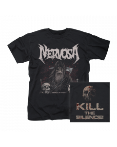 NERVOSA- Downfall Of Mankind/T-Shirt