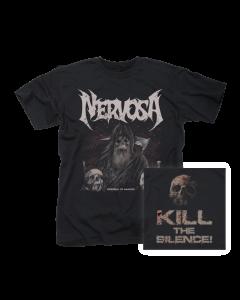 NERVOSA- Downfall Of Mankind/T-Shirt