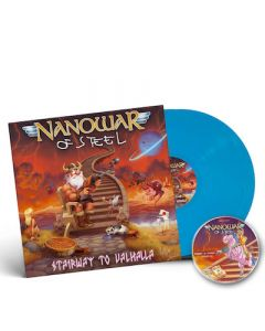 NANOWAR OF STEEL - Stairway to Valhalla / SKY BLUE 2LP + CD