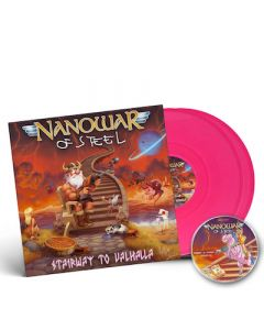 NANOWAR OF STEEL - Stairway to Valhalla / PINK 2LP + CD