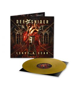 DEE SNIDER - Leave A Scar / LIMITED EDITION GOLD LP