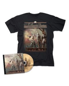 YE BANISHED PRIVATEERS - Hostis Humani Generis / CD + T-Shirt Bundle