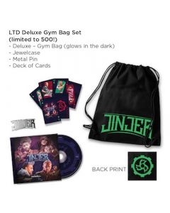 JINJER - Alive In Melbourne 2020 / LIMITED DELUXE GYM BAG EDITION BACKORDERED WILL SHIP BY 12/15