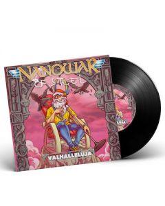 NANOWAR OF STEEL - Valhalleluja / BLACK 7 Inch EP