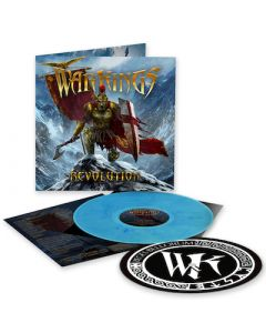 WARKINGS - Revolution / LIMITED DIE-HARD EDITION CLEAR BLUE MARBLE LP WITH SLIPMAT PRE-ORDER RELEASE DATE 8/20/21