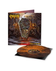 CRYPTA - Echoes Of The Soul / LIMITED DIEHARD EDITION ORANGE BLACK MARBLED LP W/ PATCH PRE-ORDER RELEASE DATE 6/11