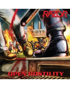 RAZOR - Open Hostility / CD