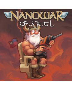 NANOWAR OF STEEL - Stairway to Valhalla / COVER PATCH