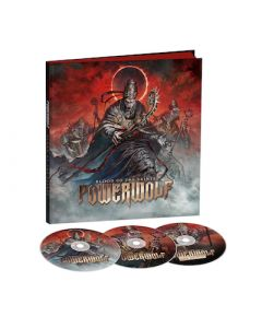 POWERWOLF - Blood Of The Saints (10th Anniversary Edition) / LIMITED EDITION 3CD EARBOOK PRE-ORDER RELASE DATE 12/17/21