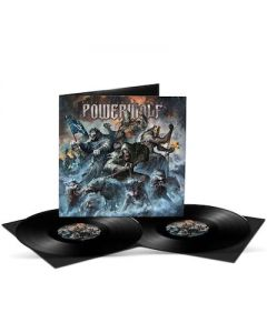 POWERWOLF - Best Of The Blessed / BLACK 2LP Gatefold