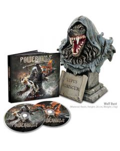 POWERWOLF - Call Of The Wild / MEDIABOOK 2CD + WOLF BUST