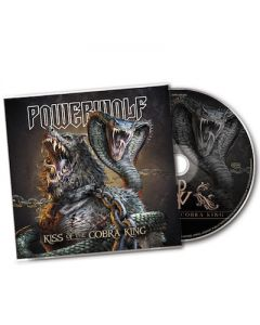 POWERWOLF - Kiss Of The Cobra King / Maxi Single CD