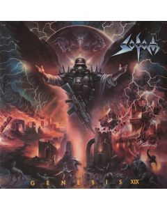 SODOM - Genesis XIX / NAPALM RECORDS EXCLUSIVE RED BLACK 2LP