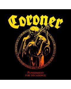 CORONER - Punishment For Decadence / 180g LP