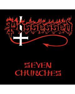 POSSESSED - Seven Churches / IMPORT Gold LP