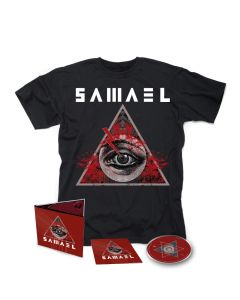 SAMAEL-Hegemony/Limited Edition Digipack CD + T-Shirt Bundle