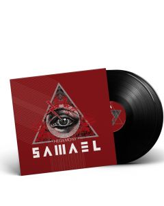 SAMAEL-Hegemony/Limited Edition BLACK Vinyl Gatefold 2LP