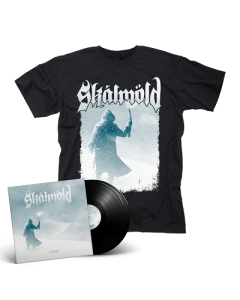 SKALMOLD- Sorgir/Limited Edition BLACK Vinyl Gatefold 2LP + Sorgir T-Shirt Bundle